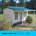Two slopes modular prefab house for camp portable building