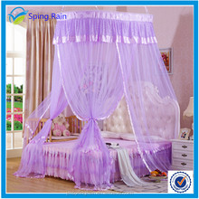 Luxury princess New Oval Lace Curtain Bed Canopy Netting Princess Mosquito Net Dedroom decorative bed nets
