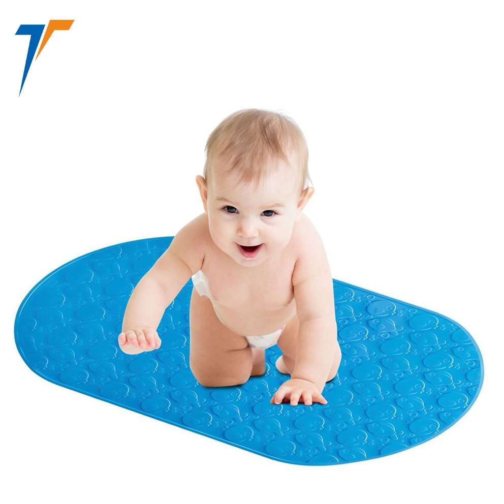 custom rubber non slip shower mats for bathromm floor