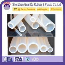 Chinese professional manufacturer high temperature Extruded Transparent conductive silicone tubing