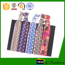 China wholesale heat transfer printed unique hair accessories for girls