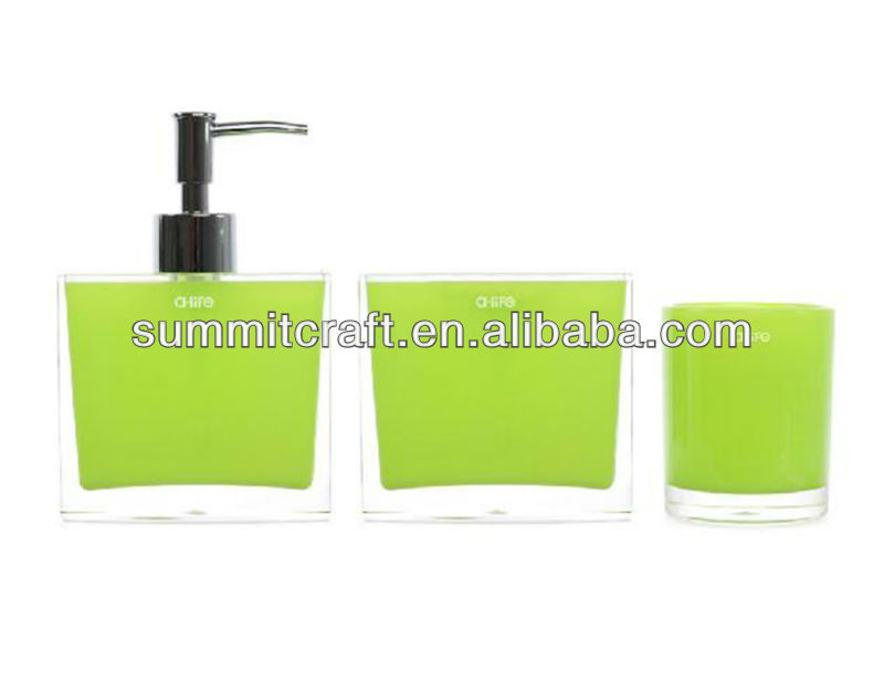 Resin complete bathroom sets chinese cheap bathroom accessories