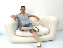 New model luxury inflatable sofa/luxury inflatable streamlined sofa