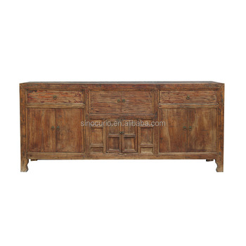 Chinese antique furniture cabinet solid wood wholesale rustic furniture