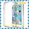 Hot Hybrid Scratch-Resistant Clear Slim Fit Hard Plastic Case for iphone 6 with Soft TPU