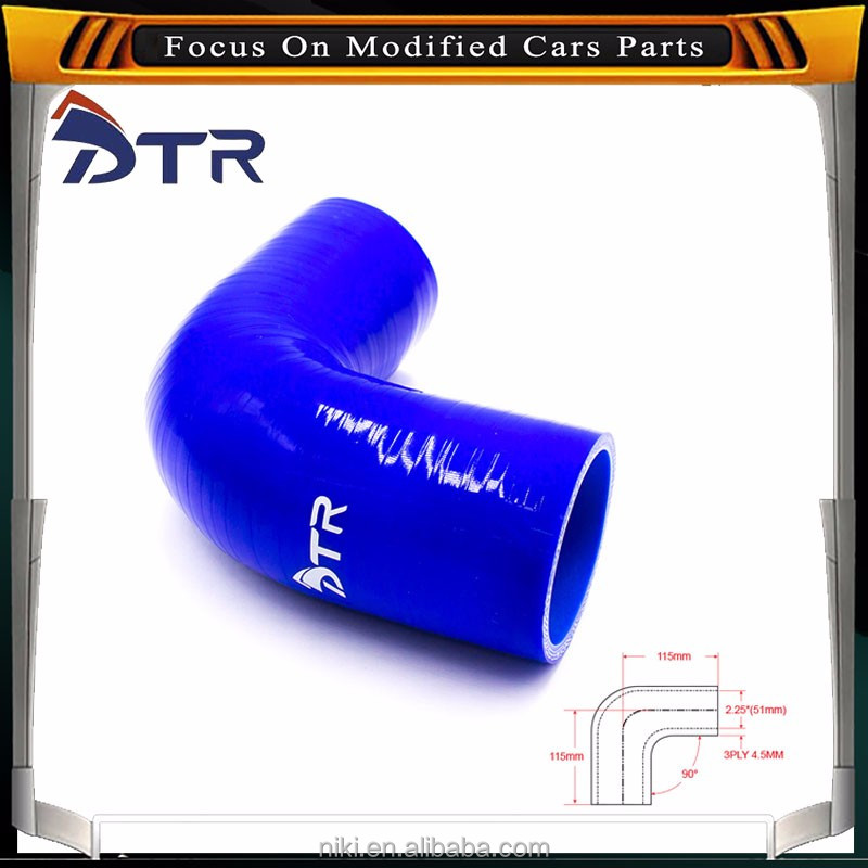 High Pressure Flexible Car 90 Degree Elbow Silicone Hose/ Silicone elbow hose