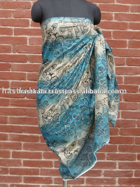 100% COTTON PRINTED SARONG / PAREO / BEACHWEAR FOR PROMOTION & RETAIL SALE