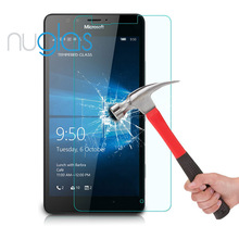 Free sample 2.5D fast shipping glass tempered screen protector for Lumia 950 with retail