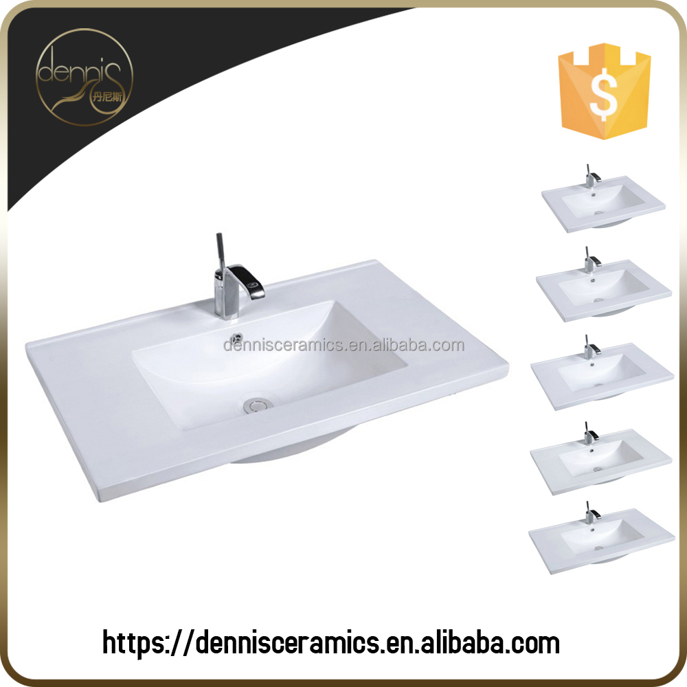 A2025E Thickness 35mm Top Mounted Washroom Sink