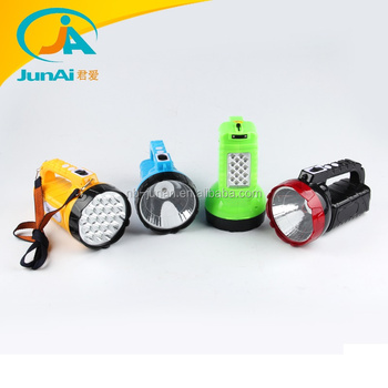 JA-1953 portable led light hand torch light with 16SMD side light