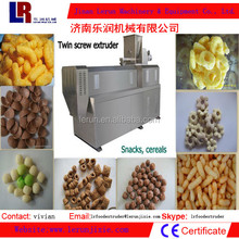 Cheese Ball Snack Food Double Screw Extruder