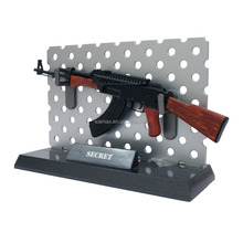 plastic toy guns 3D AK47 Anime scale safe gun model Figures military OEM&ODM 1/6 pvc figurine manufacture factory