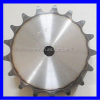 Industrial transmission sprocket with harden teeth