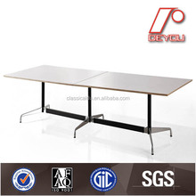 White conference table, modular conference tables, oval conference table CT-609