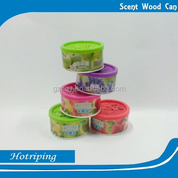 Smelling fragrance air customized new scent/fragrance wood can