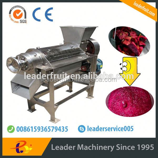 Leader multi-function fruit pulp making machine with CE&ISO certificates