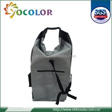 20L 30L 500D ecofriendly pvc tarpaulin waterproof dry bag with strap and logo