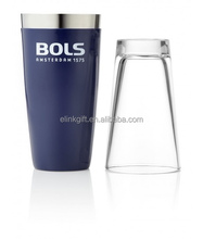 hot sale vinyl coated BOSTON cocktail shaker