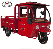 Wholesale Open Box Roomy Closed cabin Cargo Tricycle for Agency