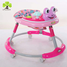 2018 Toys Baby Walker in Europe / Cheap Simple Round Baby Walker / Baby Walker with Safety Belt
