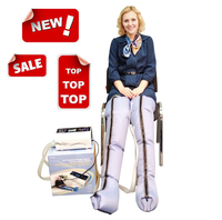 Air compression leg massager boots & leg massager blood circulator xiamen senyang