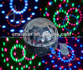 Wholesale Multi color LED ball light MP3,Radio,Bluetooth,Remote control,USB port cheap family party best disco light