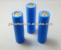 li-ion battery 18650 2400mAh rechargeable battery for tablet pc