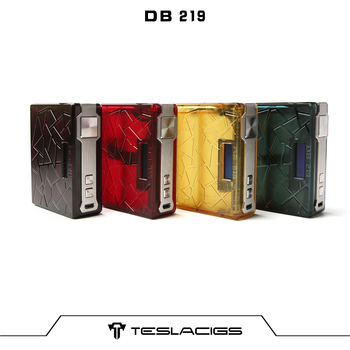 Christmas Promotion Teslacigs DB 219 Made by PEI Material with Excellent Anti-fall Performance