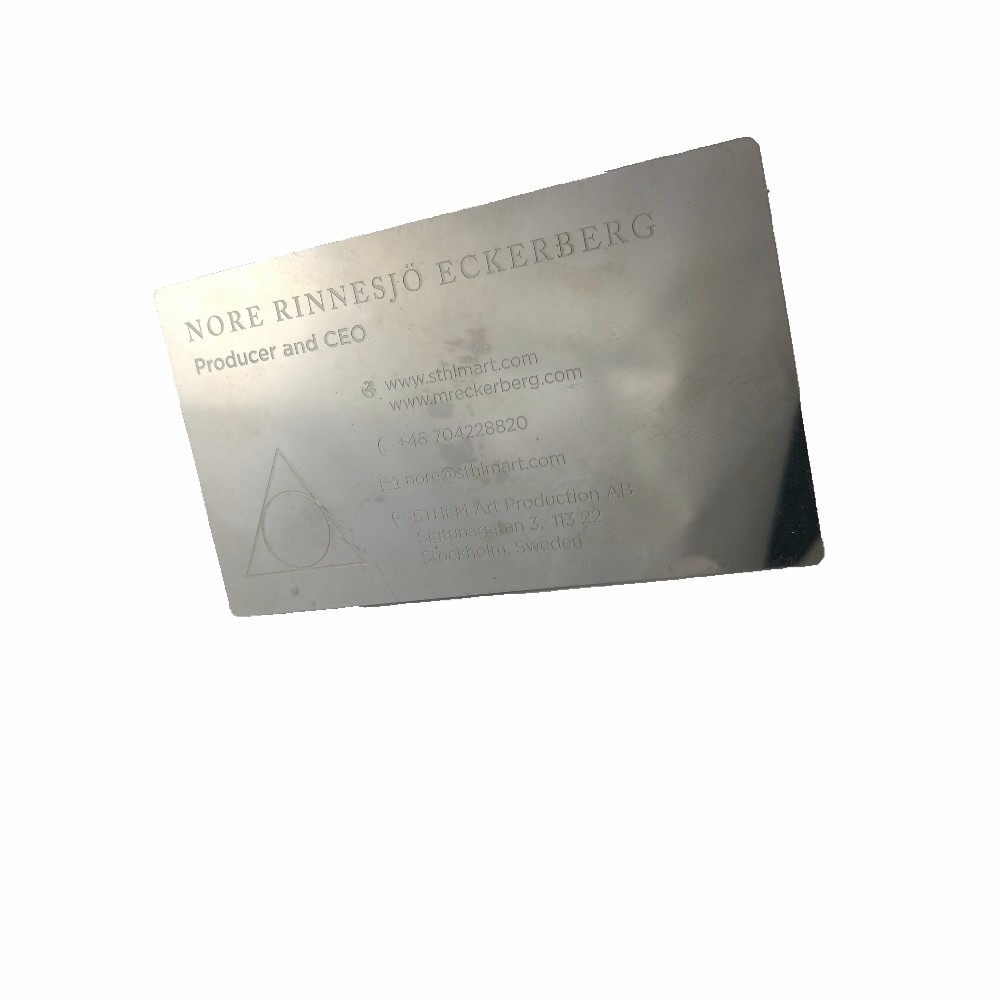 Stainless steel metal business cards stainless steel metal business stainless steel metal business cards stainless steel metal business cards suppliers and manufacturers at alibaba reheart Images