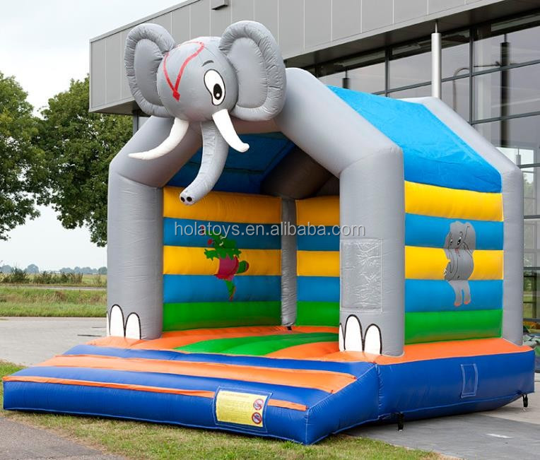 Hola elephant inflatable bouncer/bouncy castle/bouncy castle prices