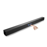 ABS plastic sound bar Ultra-thin wall-mountable TV soundbar home theatre system audio