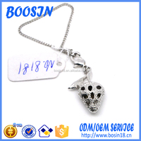Custom Promotional Mobile Phone Strap with Shaped Charms for Promotion