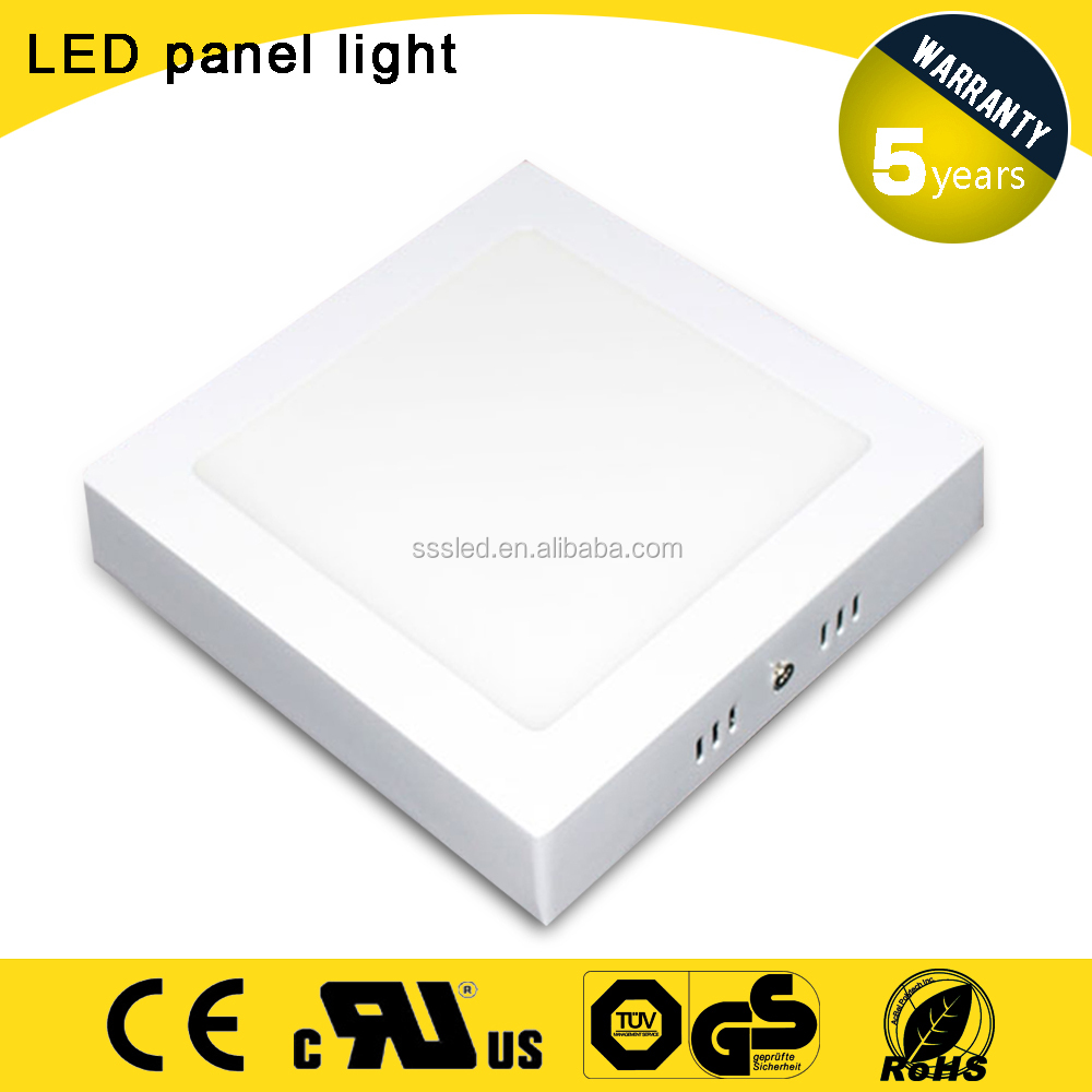 12w 6 inch high lumen ultrathin wall ceiling surface mounted round LED panel light K047