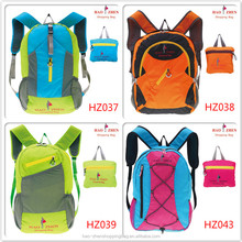 Foldable Waterproof Sport Backpack Bag for hiking and camping