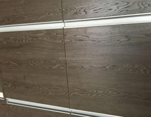 Indoor furniture grade woodgrain melamine embossed mdf panels