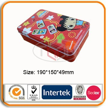 Wholesale metal packaging tin boxes