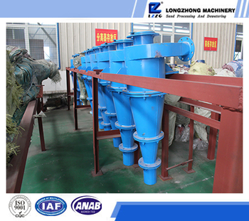 Hydrocyclone water cyclone, cyclone group supplier