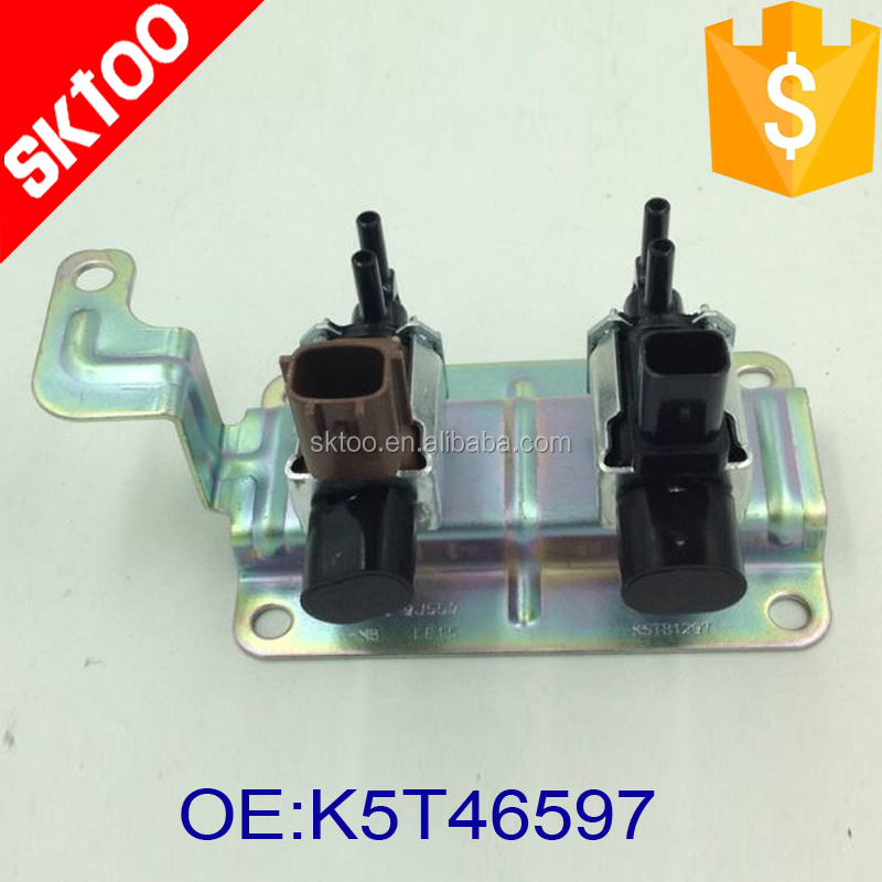 auto car canister contral valve K5T46597 for mazda CX-7 6 5 3 04 to13 Intake Manifold Runner Solenoid Valve