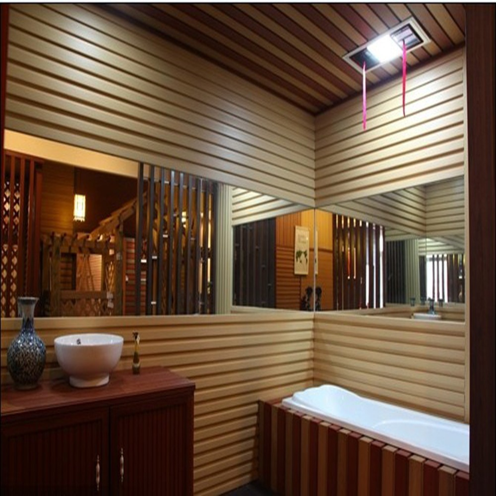 Water Resistant Wall Paneling : Ecological wood plastic composite water proof decorative
