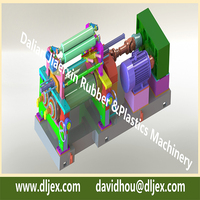 Rubber mixing mill OEM price offered by Dalian Rubber Mixer Machine
