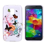 Soft TPU Case Cover For Samsung Galaxy S5 Mini G870a SM-G870a SM-G800 S5 Dx