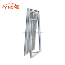 European Style Commercial Aluminum Awning Windows /Hand Crank Window
