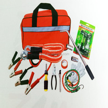 newest various car emergency tool kit, auto roadside emergency safety kit