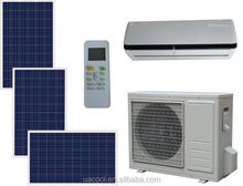 new design air conditioner 100% solar power supply solar airconditioner for homes