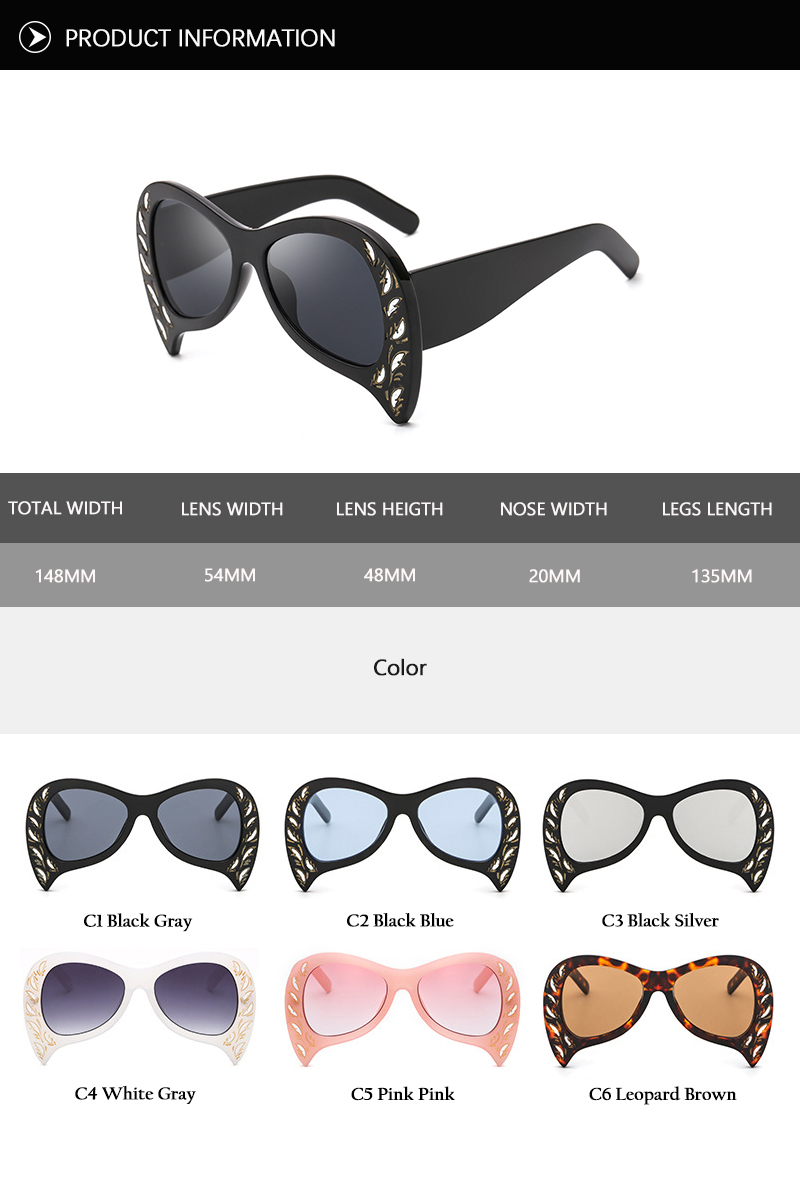 Rimless Cat Eye Sunglasses (21)