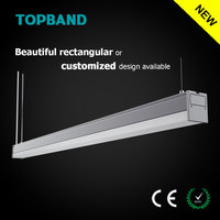 CE ROHS Listed 30W 40W 115lm/w 1.2M LED Tube Linear Light to Retrofit Fluorescent tube fixture
