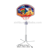30cm 12 inches vertical type basketball board backboard with stand , wooden toys