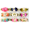 First Birthday Headbands With Nylon Mini Flower Babygirl Flower Garland