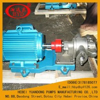 vegetable oil pump kcb33.3 gear pump