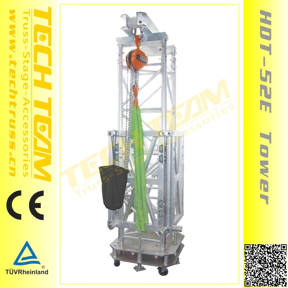 Heavy Duty Ground Support Truss Tower Design/self supporting tower